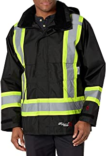 Viking Professional Journeyman FR Waterproof Flame Resistant Jacket, Black, XL