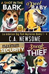 Lia Anderson Dog Park Mysteries: Books 1 - 4 Kindle Edition
