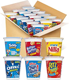 Sponsored Ad - OREO Mini Cookies, CHIPS AHOY Mini Cookies, RITZ Bits Cheese Crackers, Teddy Grahams Honey, Nutter Butter B...