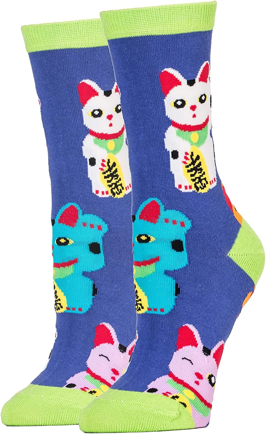 All items in the store Women's Novelty Crew Socks for Cat Oooh Yeah Atlanta Mall Lovers Crazy Funny