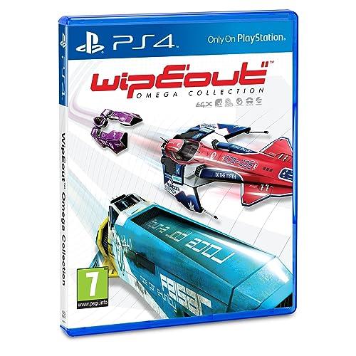Sony WipEout Omega Collection, PS4 Básico PlayStation 4 vídeo - Juego (PS4, PlayStation 4, Racing, Modo multijugador, E10 + (Everyone 10 +))