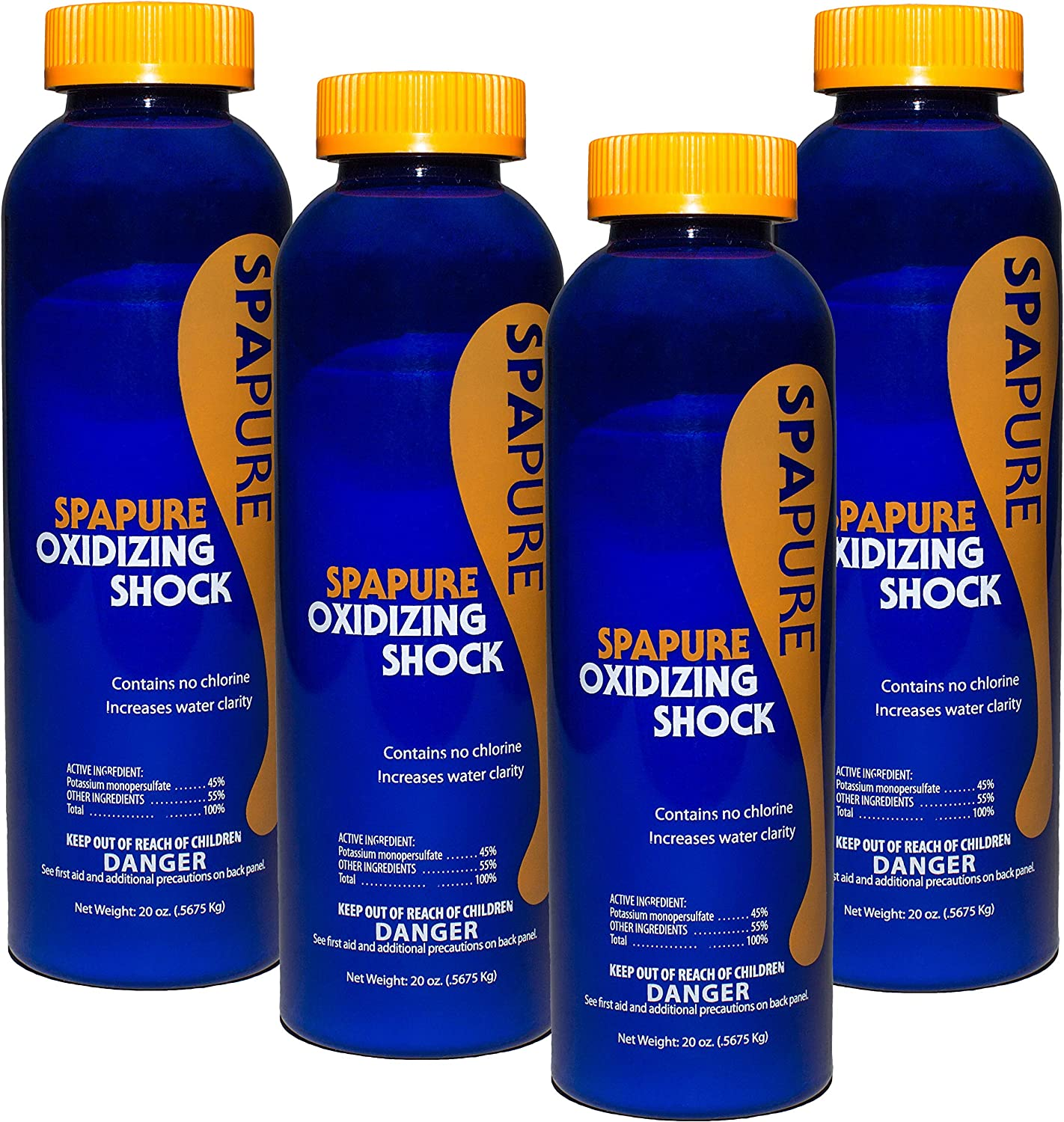 PureSpa SpaPure Oxidizing Ranking TOP17 Shock High quality new 20 oz Pack 4