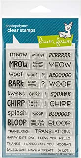 Lawn Fawn LF1964 Critter Chatter: Pets 4X6 Clear Stamp Set