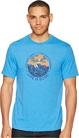 Life Isn't Easy Ocean Cool Tee