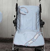 Babyline Bombón - Colchoneta ligera para silla de paseo, color azul