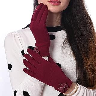 DEBRA WEITZNER Driving Gloves Touchscreen Winter Gloves for Women Cotton