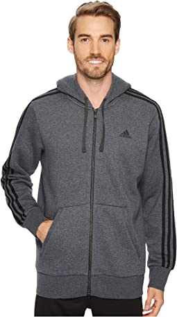 Essentials 3S Full Zip Brushed Fleece Hoodie