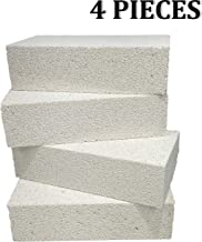 """Executive Deals Insulating Fire Brick for Ovens, Kilns, Fireplaces, Forges - 4 Piece Full Brick (9"""" x 4.5"""" x 2.5"""") 2300F"""