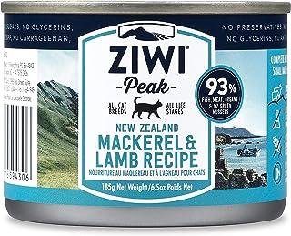ZiwiPeak ジウィピーク キャット缶 NZマッカロー&ラム 185g