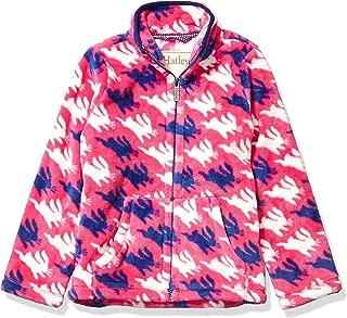 Hatley Girls' Fuzzy Fleece Full Zip Jackets