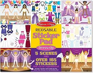 Melissa & Doug Dress-Up Reusable Sticker Pad