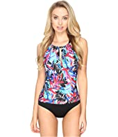 Jantzen - Tropic Nights High Neck One-Piece