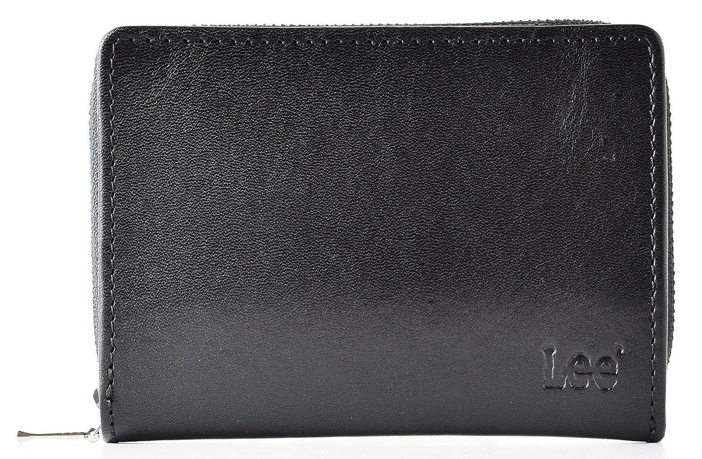 (リー) Lee 財布 メンズ 二つ折り 本革 小銭入れラウンドファスナー 0520266