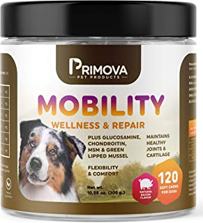 Primova Glucosamine for Dogs - Advanced Hip & Joint...