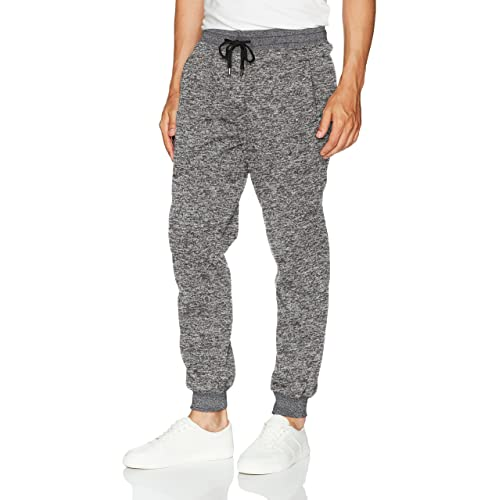 039cb27b29795e Southpole Men's Basic Fleece Marled Jogger Pant