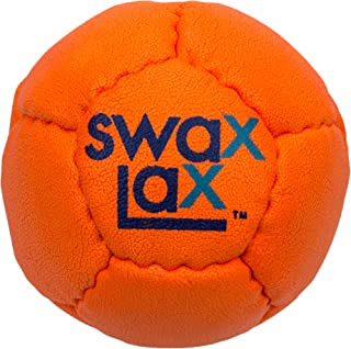 Indoor /& Outdoor Practice Ball with Less Bounce /& Rebounds Patriotic SWAX LAX Lacrosse Training Ball Bundle Same Size /& Weight as Regulation Lacrosse Ball but Soft