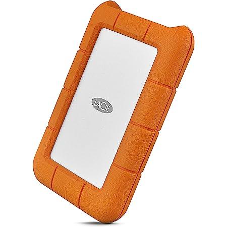 LaCie HDD ポータブルハードディスク 2TB Rugged Mini USB type C 耐衝撃 2年間保証 2EUAP9