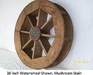 Backyard Crafts Amish-Made Decorative Waterwheel - 15