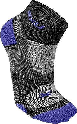 2x u Training vectr Sock, Couleur Noir, Taille S
