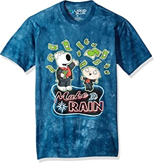 Liquid Blue The Family Guy Make It Rain Money Tie Dye Ss T-Shirt
