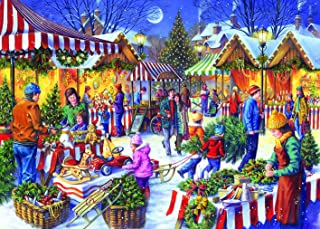 Gibsons Christmas Fayre Jigsaw Puzzle (1000 Piece)