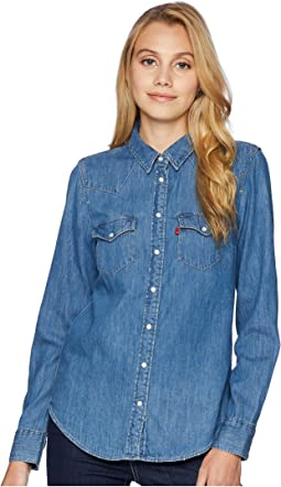 1e636ca6 Levis womens modern western shirt | Shipped Free at Zappos