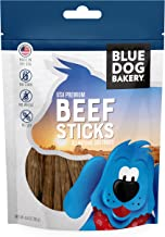 Blue Dog Bakery Natural Dog Treats, Grain Free, USA Premium Beef Sticks