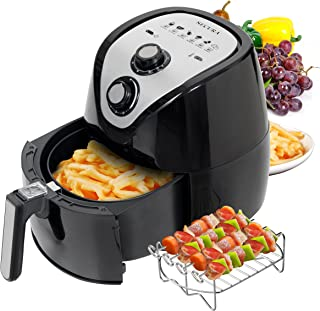 Secura Air Fryer 3.4Qt / 3.2L 1500-Watt Electric Hot XL Air Fryers Oven Oil Free Nonstick..