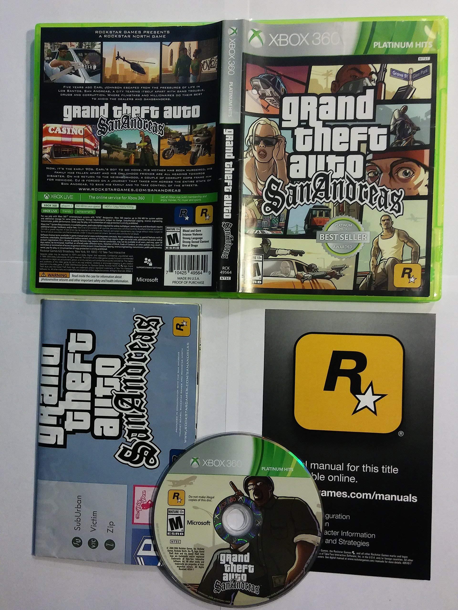 Grand Theft Auto: San Andreas [Importación Inglesa]: Amazon.es ...