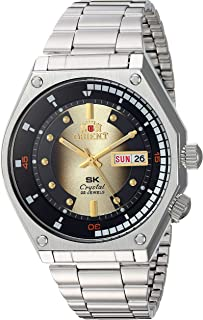 Orient Japanese Automatic Stainless Steel Strap, Silver, 7 Casual Watch (Model: RA-AA0B01G19A)