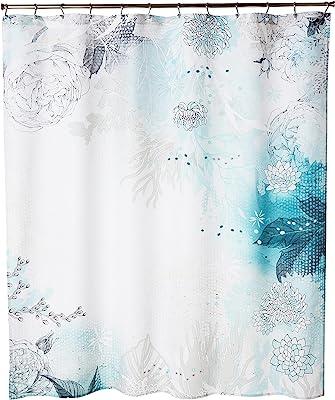 "Deny Designs 16071-shocur Iveta Abolina Seafoam Shower Curtain, 69"" x 72"""