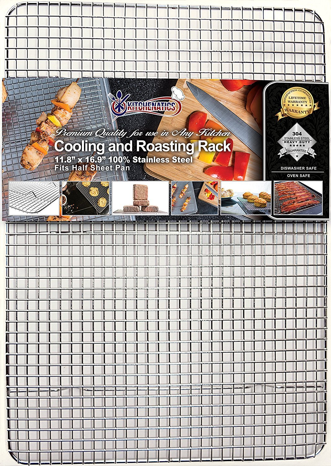 Kitchenatics Professional Grade Stainless Steel Cooling