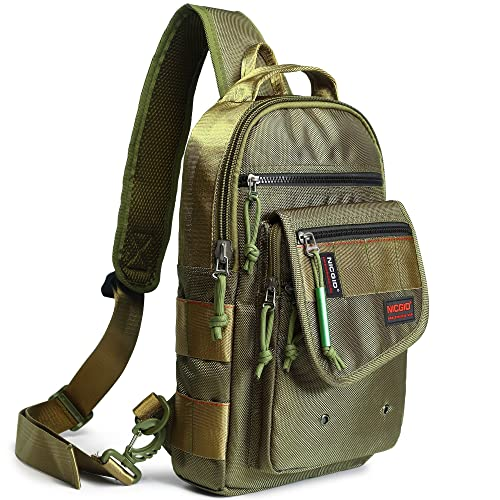 26b3504b02 Nicgid Sling Bags, Chest Shoulder Backpacks Crossbody Purse Outdoor Chest  Bag Travel Backpack for Men