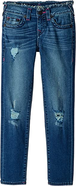 True Religion Kids - Casey Skinny Jeans in Vintage Pink (Big Kids)