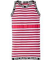 Balmain Kids - Sleeveless Knit Striped Dress (Big Kids)