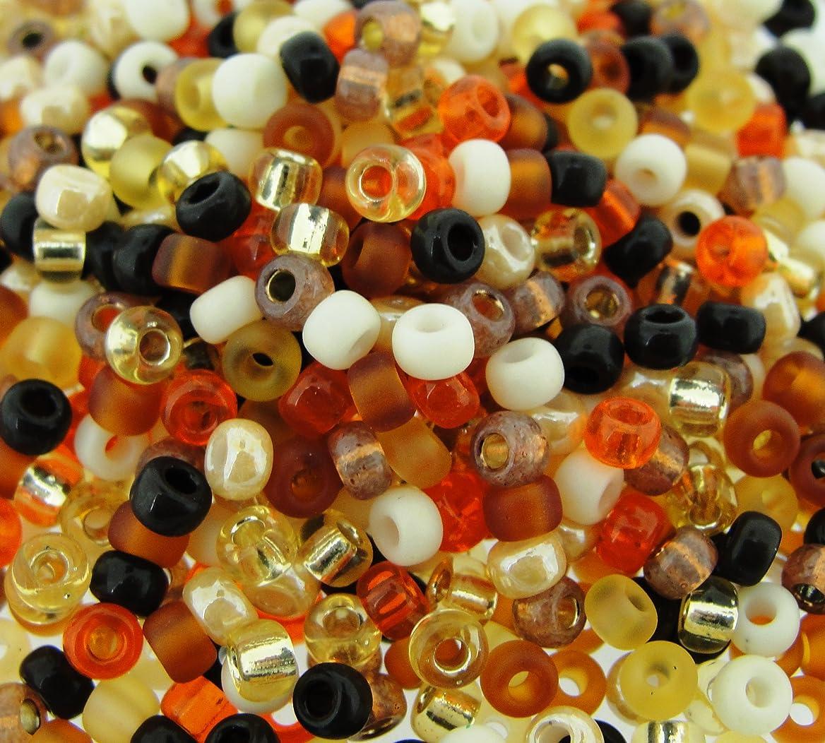 Miyuki Round Seed Beads Size 8/0 22g Wheat Berry Mix stomcungfq18