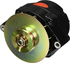 Powermaster 57294 Black Alt GM 12SI 150A 1V Pulley & Baffle 1 or 3 Wire