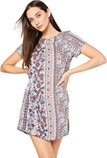 All About Eve Women's Paisley Shift Dress
