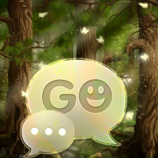 GO SMS Pro Theme Forest