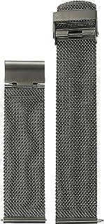 Skagen Men's 20mm Stainless Steel Mesh Watch Strap, Color: Grey (Model: SKB6038)