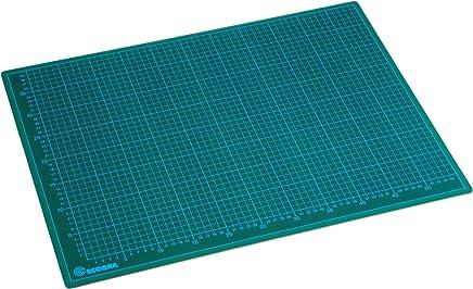 Ecobra - Tabla de corte 60 x 45 cm, color verde