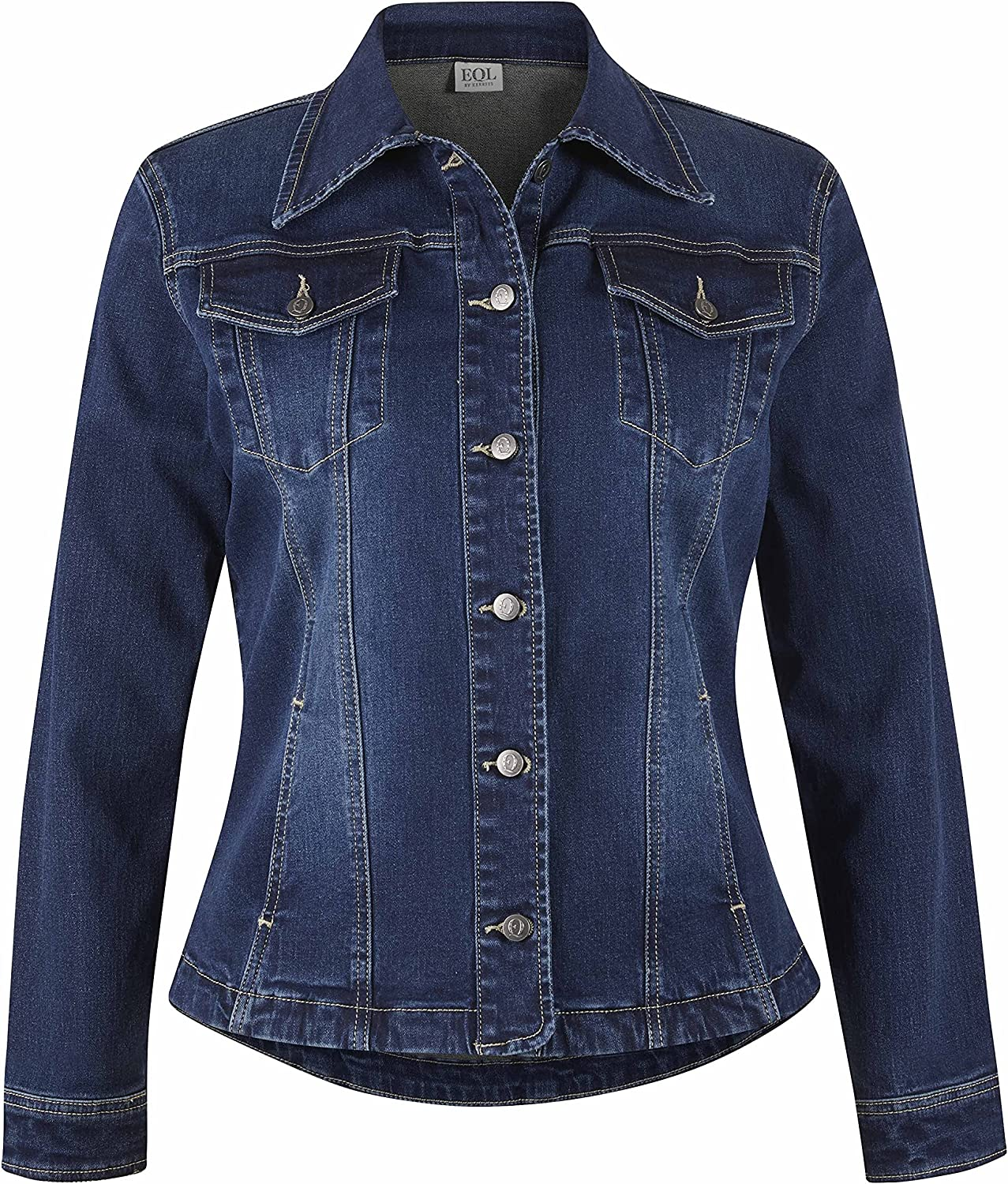 Super-cheap In Motion 5 ☆ very popular Jean Jacket Size: Wash S Midnight