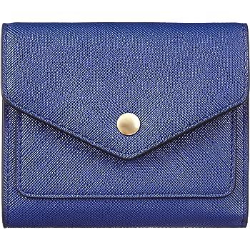 Womens RFID Blocking Small Credit Card Holder Wallets Leather Pocket Mini Purse