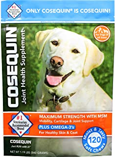 Cosequin Soft Chews Maximum Strength with MSM Plus Omega3...