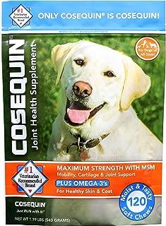 COSEQUIN Maximum Strength Joint Supplement Plus MSM &...