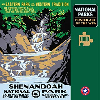 Shenandoah National Park Poster Art of The WPA 1000 Jigsaw Puzzle Games for Kids Adults Collector Item (Printed in USA)