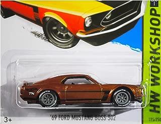 2015 Hot Wheels Super Treasure Hunt Hw Workshop - '69 Ford Mustang Boss 302