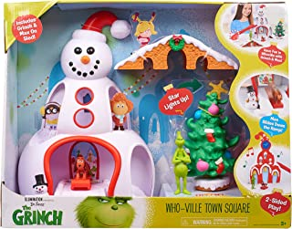 Grinch Movie Whoville Town Center Playset