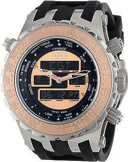 Men's 12590 Subaqua Analog-Digital Swiss-Quartz Black Watch