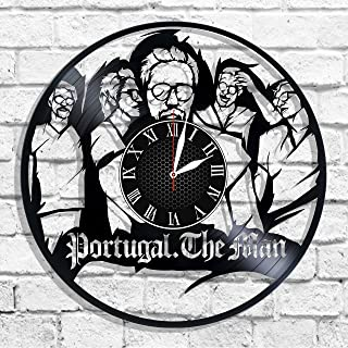 Portugal. The Man rock band design wall clock, Portugal. The Man wall poster